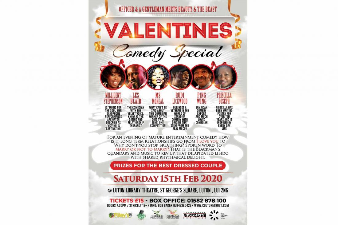 Valentines Comedy Night Special
