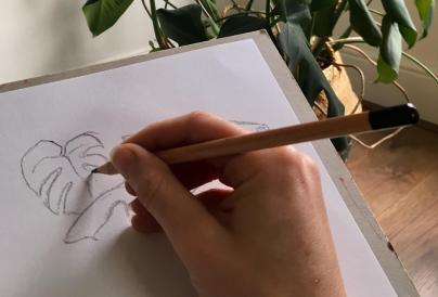 image of abi drawing