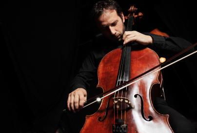 Image of musician playing the cello