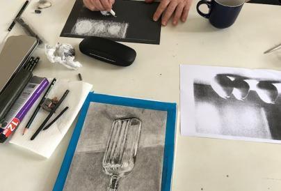 Charcoal Drawing Image
