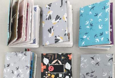 Fabric Memory Books