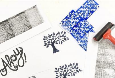 Lino Printing Image