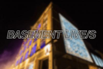Basement Live/s Web Banner