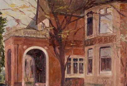 painted image of wardown house and museum